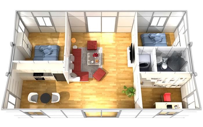 Butterfly Modular Home T311