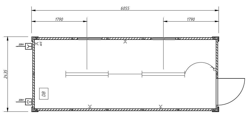 Bedroom Floor Plan With Dimensions