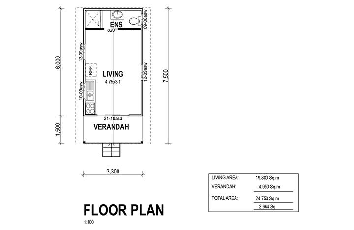 Kit Homes Oakdale Floor Plan