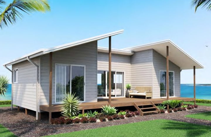 Flat pack granny flats ibuild kit homes for Modern kit home designs