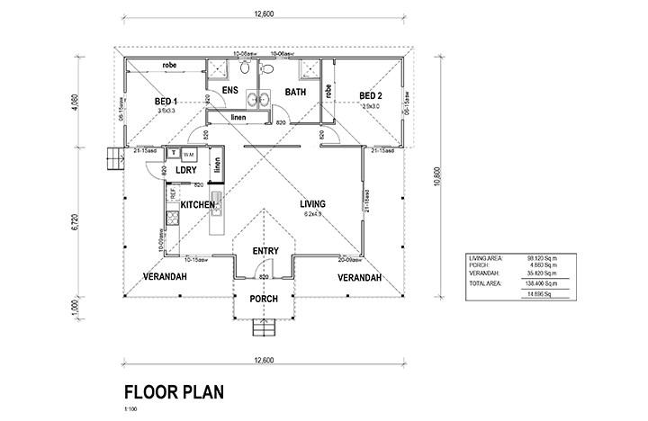 Kit homes bendigo floor plan