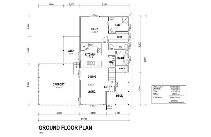 Kit Homes Central Coast Floor Plan Sundrift
