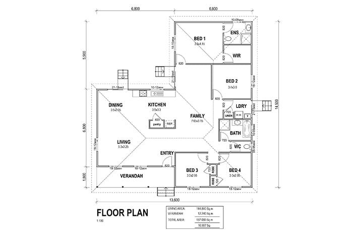 kit homes geelong floorplan