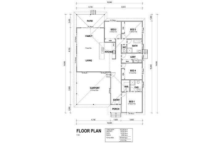 kit homes darwin floorplan
