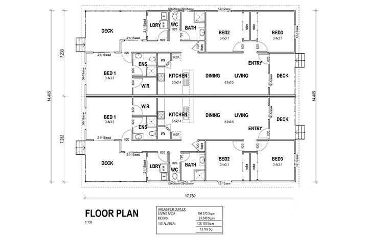Kit Homes Dubbo Floorplan