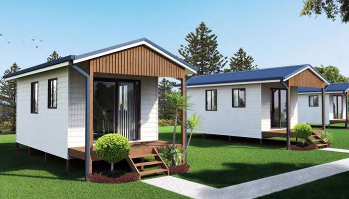 Granny flats brisbane granny flats qld for House plans with granny flats