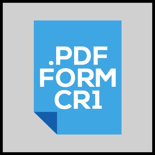 iBuild PDF Form CR1