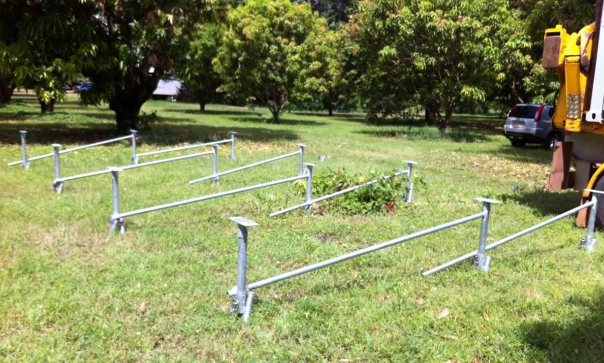 Mega Anchor foundation footing system