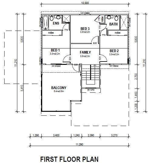 kit home valley height first floor plan