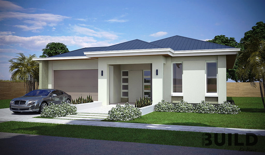 3 bedroom house plans ibuild kit homes for Modern 3 bedroom house plans and designs