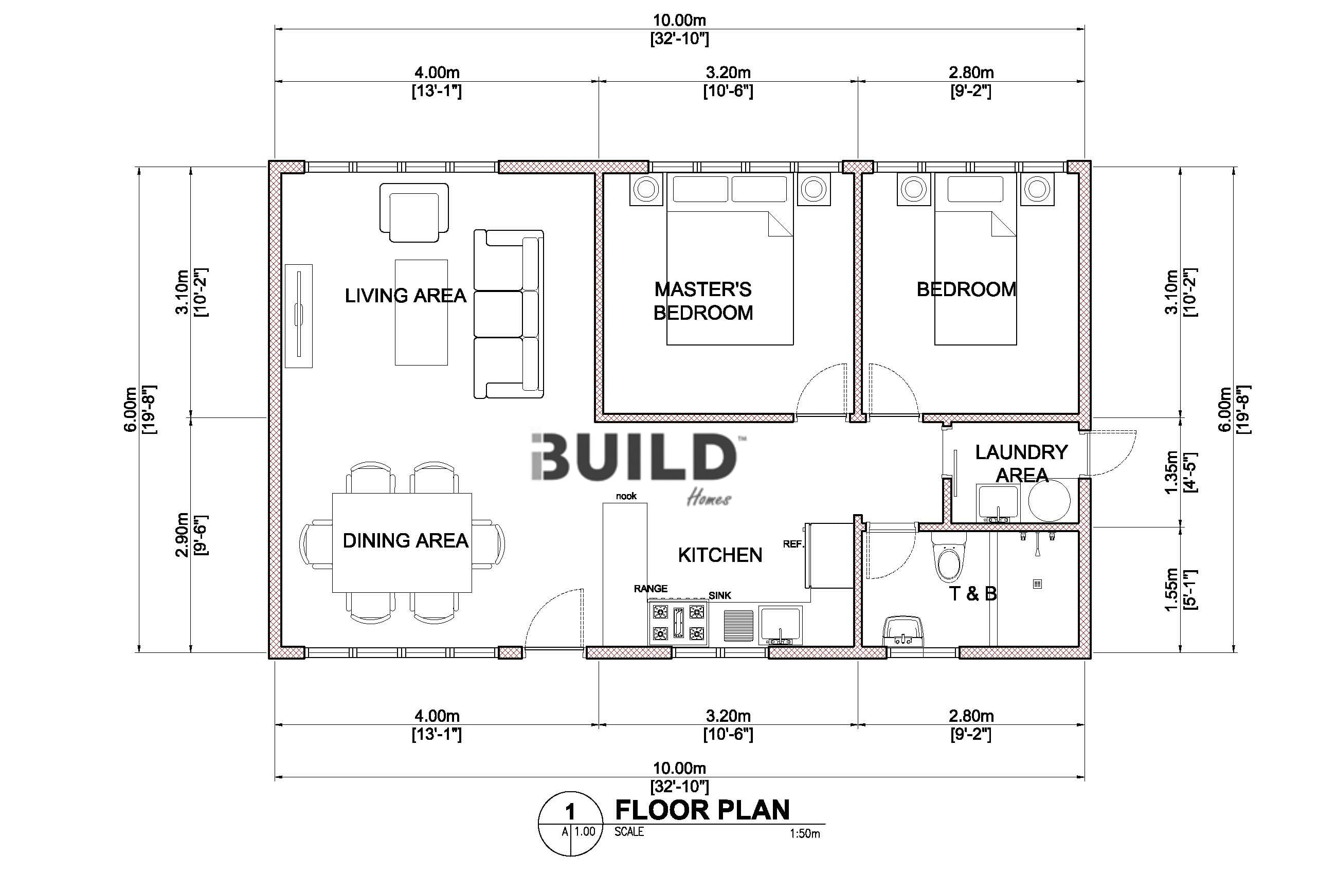 Granny flats parramatta kit homes parramatta for Floor plans granny flats