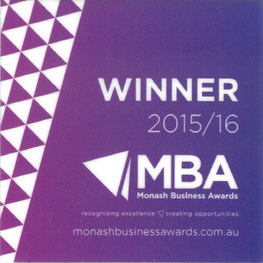 2016 Monash Business Awards Annual Gala Dinner - iBuild wins Innovation Award