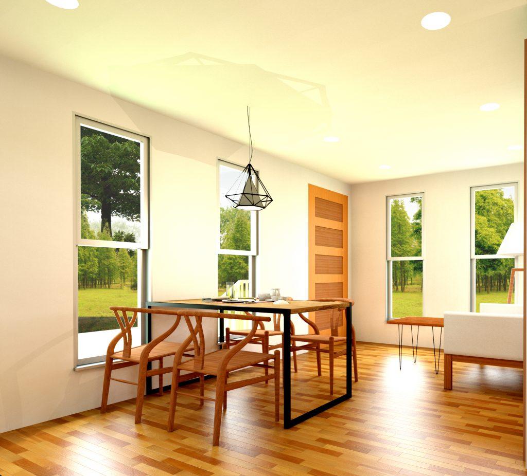 NeoFab Modular Home Interior