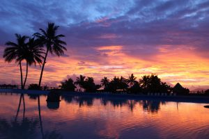 Kit Homes Tahiti Island Sunset