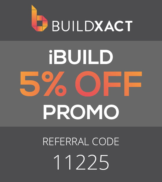BUILDXACT Referral code