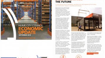iBuild Featured In Hume City Economic Magazine